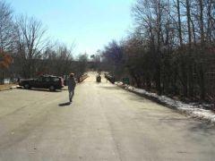 site of former US-23 Main St bridge, Ann Arbor, Michigan