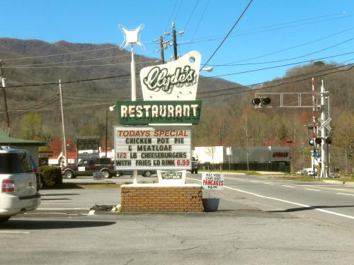 Clyde's Restaruant, Waynesville, North Carolina