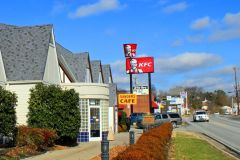 Location of the Original Sanders Cafe & Motor Court on Dixie Highway in Corbin, KY