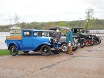 Antique Car display