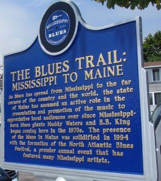 Blues Trail Marker