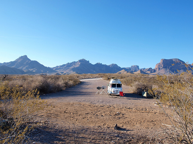 Camping at Big Bend National Park