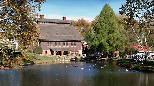 Mill And pond