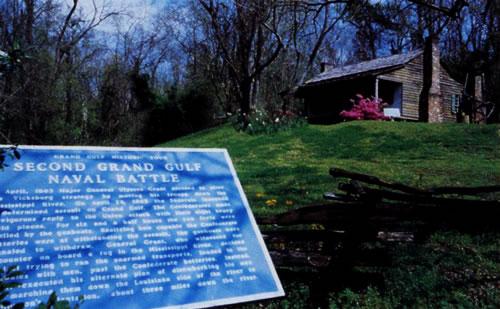 Grand Gulf-Raymond Scenic Byway Interpretive marker
