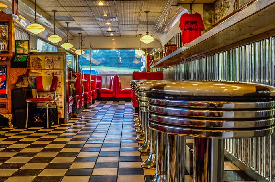 Mayberry Drive Diner Interior