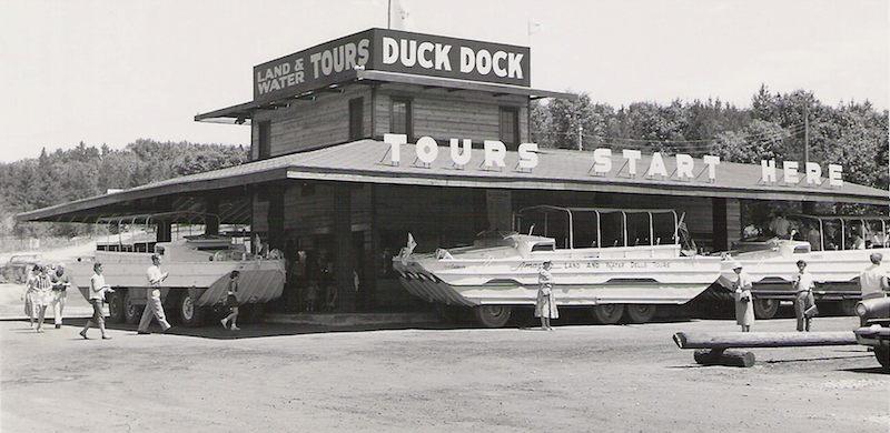 1950s Duck Dock