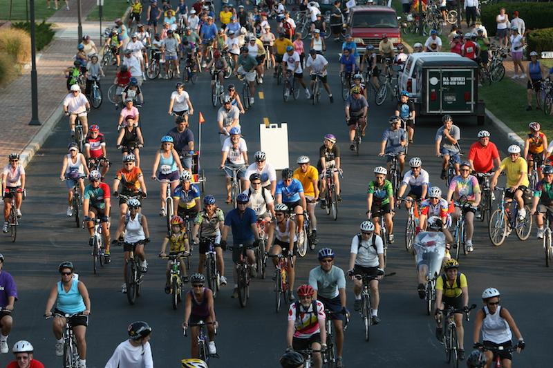 Bikes in downtown Dover, Del