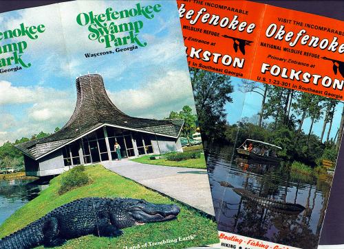 Old Okefenokee Brochures