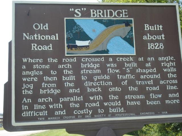 US40 S Bridge Sign