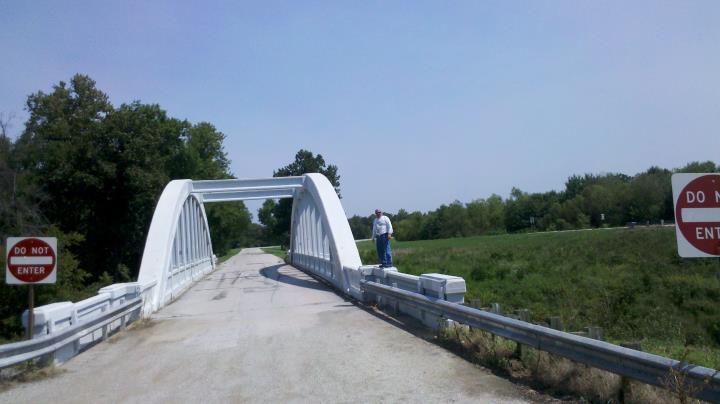 Bush Creek Marsh Arch Rainbow Bridge