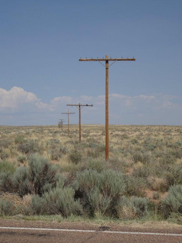 Poles In The Desert