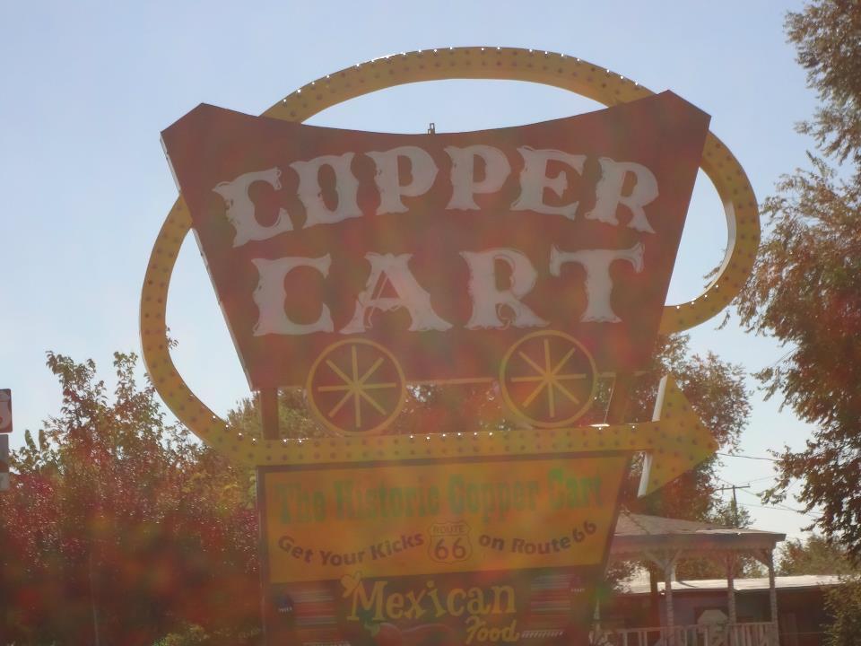 Copper cart