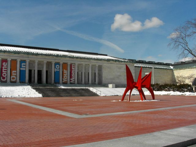 Toledo Art Museum Front Entrance