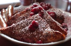 WGI Cherry Stuffed French Toast