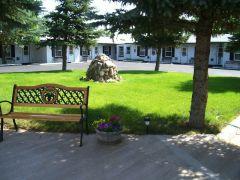 Motel Courtyard