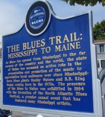 Blues Trail Marker