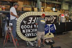Repairing Sign