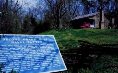 Grand Gulf-Raymond Scenic Byway Interpretive marker