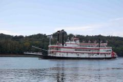 Real Riverboat On Ohio