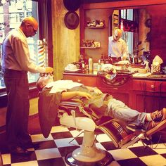 Common Scene from Classic Barbershop