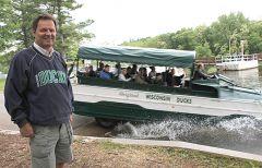 Dan Gavinski, Gen. Mgr. Dell Boat Tours