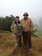 Rosemary Rubin and Bob Lichty LH western terminus