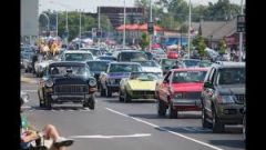 Woodward Dream Cruise panorama