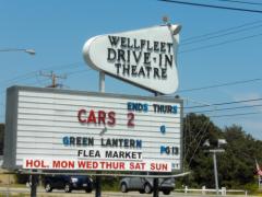 Wellfleet Drive-In Theatre, Wellfleet, Massachusetts