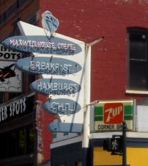 Corner Grill Sign, Bowling Green, Ohio