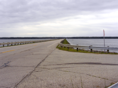 Pymatuning Lake Causeway, Pennsylvania and Ohio
