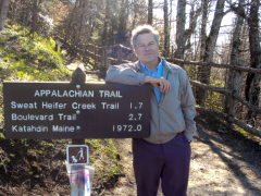 Appalachian Trail, Newfound Gap, TN