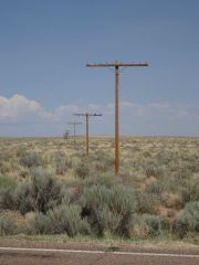 Poles In The Desert