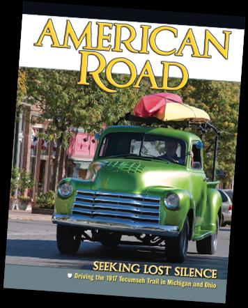 American Road Magazine Cover