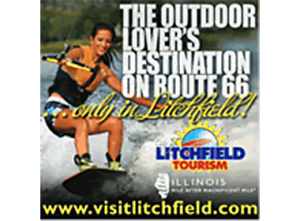 Litchfield Illinois Tourism Logo