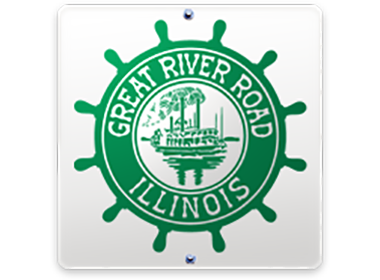 Great River Road IL logo