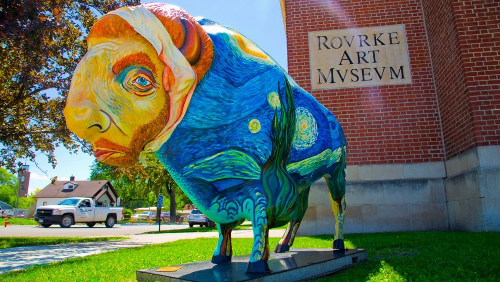 Rourke-Art-Museum_Painted-Bison