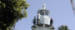 3 People In A Lighthouse