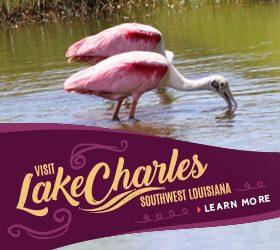 Lake Charles CVB Half Banner