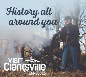 Visit Clarksville TN American Road Digital Ad