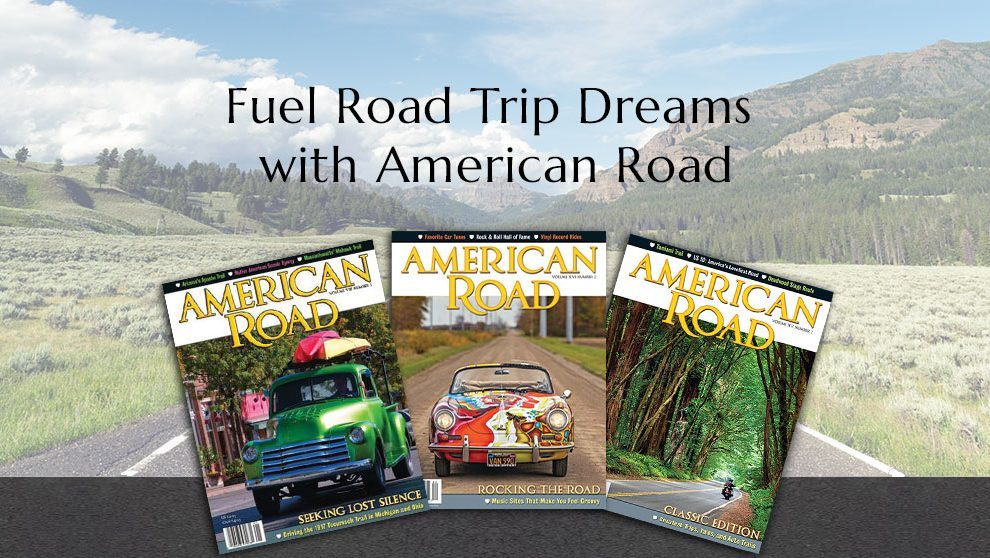 Subscribe Road Image Light Overlay American Road Magazine