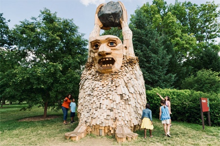Colossal Troll By Danish Artist Thomas Dambo American Road Magazine