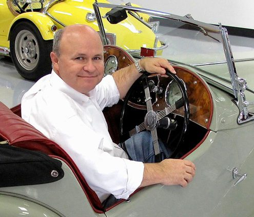 Mark Greene Sitting In A Car American Road Magazine