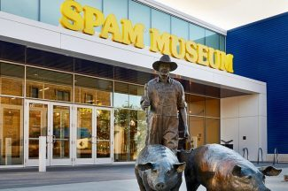 Spam Museum Entry