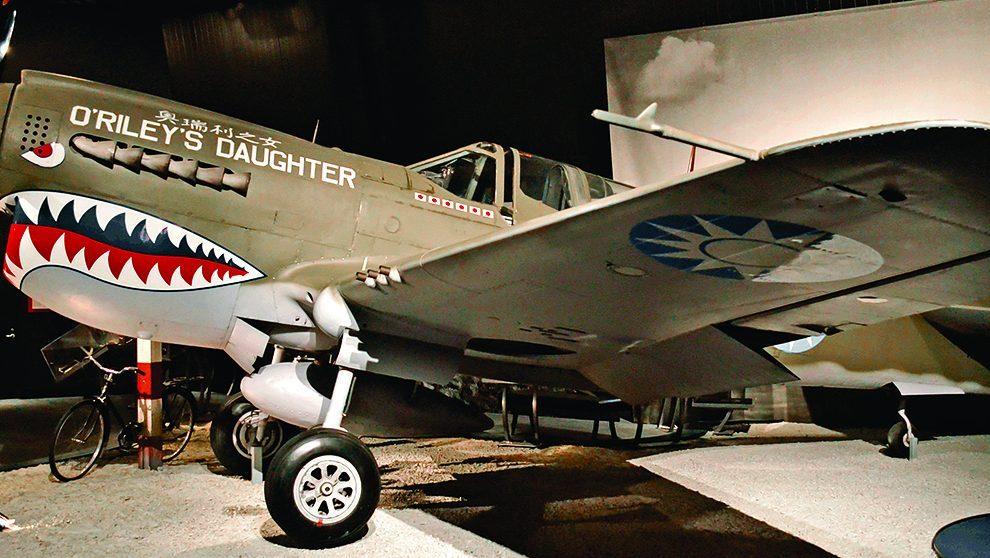 Plane In Museum of Flight Seattle