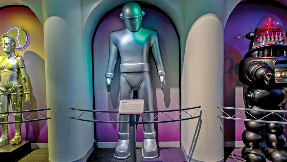 Famous Robots from Various Sci Fi Movies
