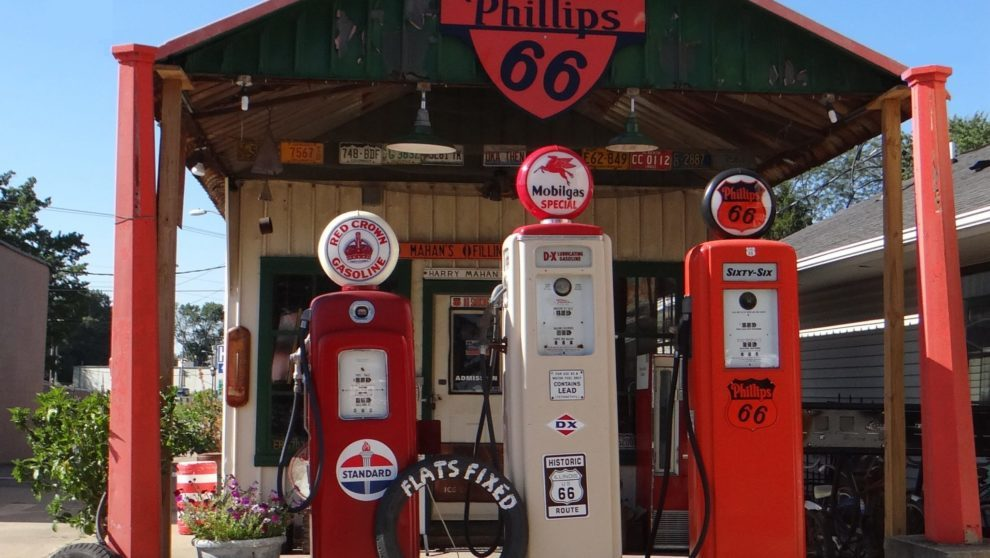 Mahans Route 66 Gas Station in Springfield_IL