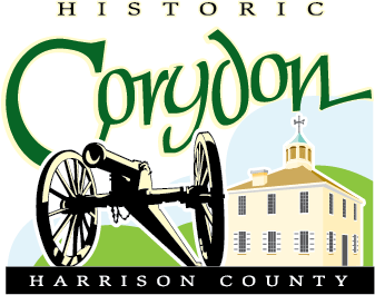 Historic Corydon - Harrison County Logo